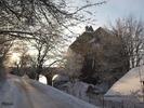 Burg Altpernstein im Winter