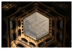 Blick hinauf auf Kuppel