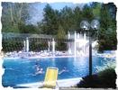 Kühles Schwimmbecken