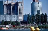 Bau der Donau City