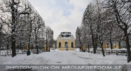 Kaiserpavillon im Winter
