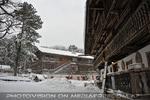 Tiroler Hof im Schneegestöber