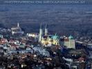 Blick nach Stift Klosterneuburg