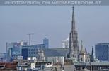 Blick zum Stephansdom