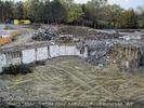 Bau des Thermenparks - Garage