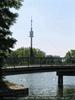 Blick vom Birner zum Donauturm