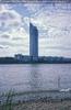 Millenium Tower von der Donauinsel