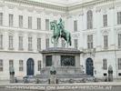Reiterdenkmal - Nationalbibliothek