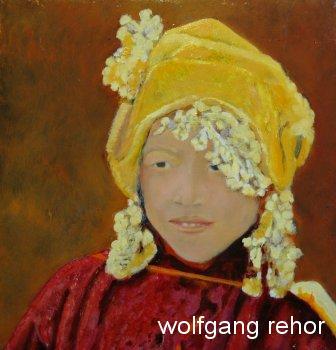 nepalesisches Mädchen