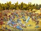 Schlacht mit Ritterfiguren