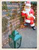 Weihnachtsmann zur Begrüßung