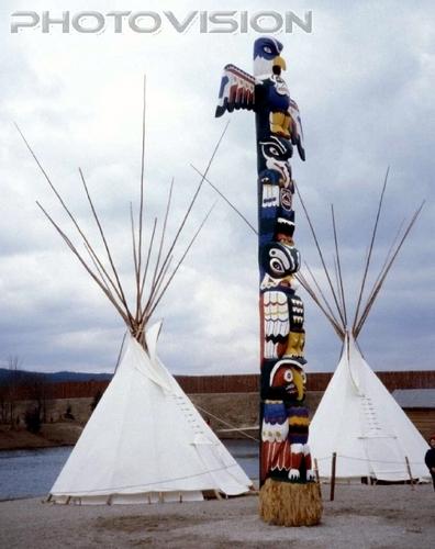 Indianer Totem