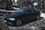 BMW 330CI in darkness