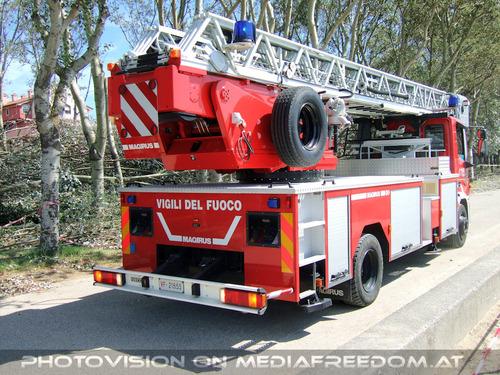 Leiterwagen Einsatz nach Tornado