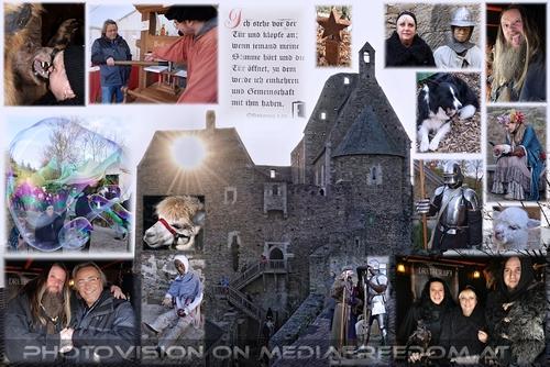 Historischer Advent: Magnar BLACK (Druidcraft), Gabriele P., Charly Swoboda, Petzi Petra und Christian Steiner