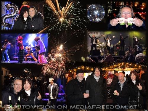 Happy New Year Party: The Bad Powells, Insieme mit Monika Ballwein, Die 3 mit Gary Lux, Michael Mühlbauer, Andy Peyer...