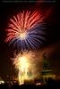 Feuerwerk am Heldenplatz