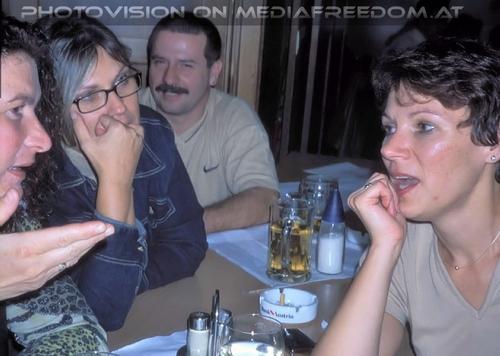 Wiedersehen 1974 - 2002 (11): Renate L.,Karin G.,Susanne G.