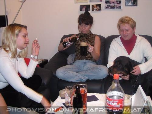 Freistil Party 1: Dani ,Gerda,Hobi