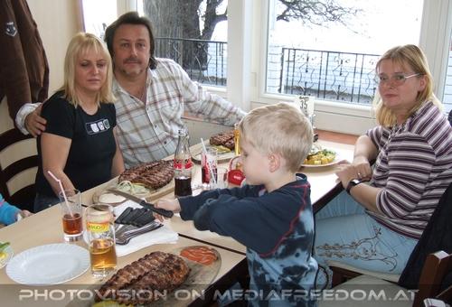 Mahlzeit: Gabriele P.,Charly Swoboda,Luki,Tamara M.