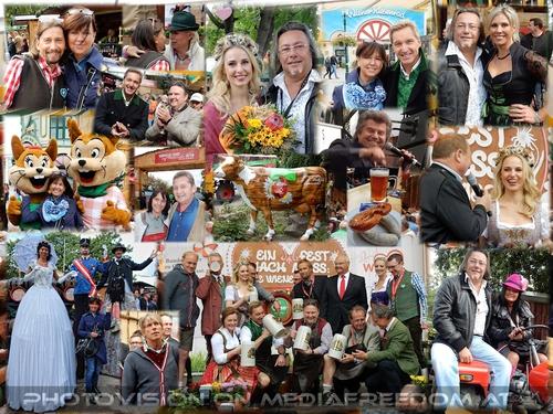 7. Wiener Wiesn Fest: Hans Knauß, Michael Ludwig, Silvia Schneider, Harry Prünster, Harry Kopietz, Andy Borg