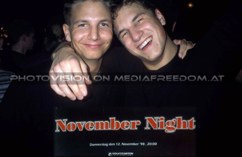 A November Night Party 1: Harald P.,Philipp K.