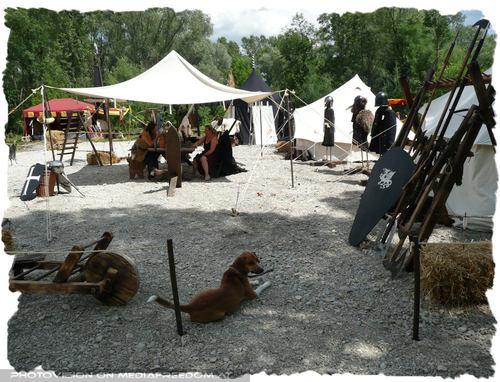 Bewachtes Lager - Mittelalterfest