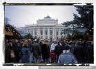 Vor dem Burgtheater