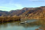 Blick auf die Donau von Dürnstein