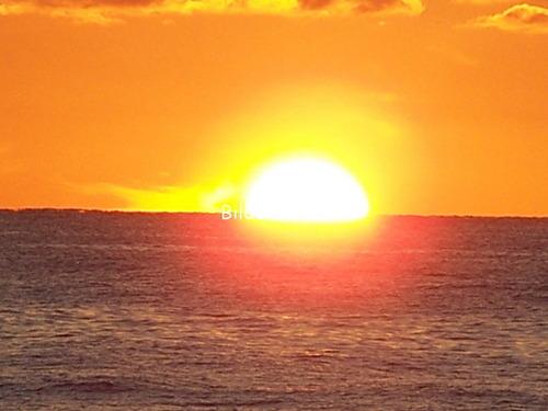 Sonnenuntergan in Dänemark: Sonne und Meer