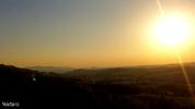 Sonnenuntergang in Texing