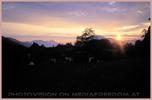 Sonnenuntergang Karawanken