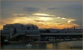 Sonnenuntergang im August 1