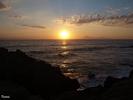 Sonnenuntergang bei Arkoudi