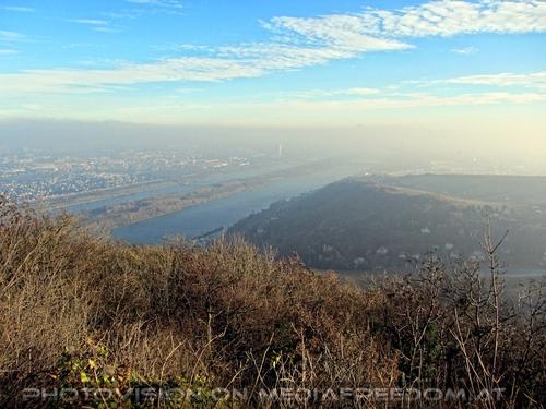 Blick auf Wien mit der Donau