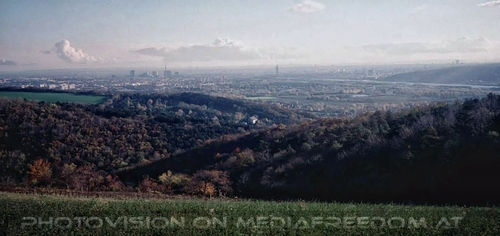 Blick nach Wien