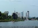 Blick zur Donau City