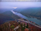 Donau im Nebel