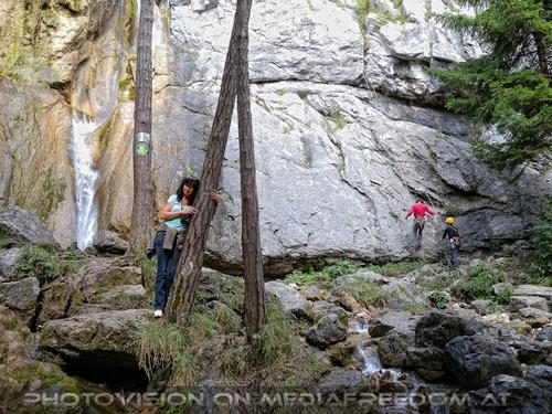 Beim Sebastian Wasserfall 17: Eva D.