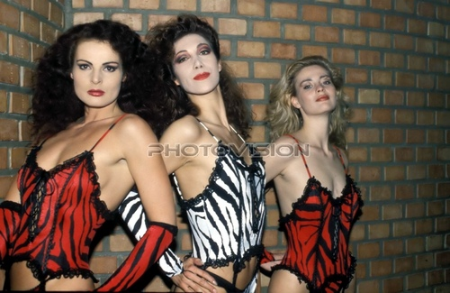 Tiger look: Iris Geher,Natascha Tagunoff,Nadine