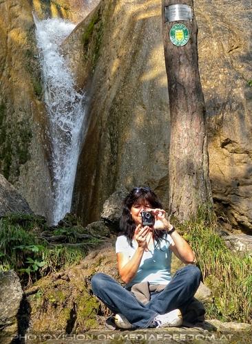 Beim Sebastian Wasserfall 15: Eva D.