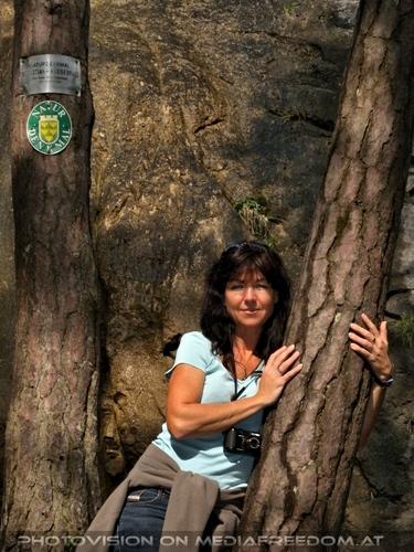 Beim Sebastian Wasserfall 19: Eva D.