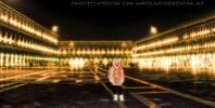 Markusplatz bei Nacht