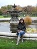 Vor dem Volksgarten Brunnen