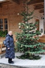 Weihnachtsbaum beim Tirolerhof