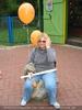 Balloon Frau