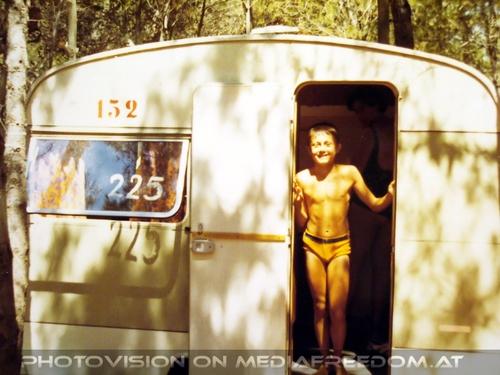Wohnwagensiedlung 01: Charly Swoboda