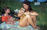 Eis teilen mit der Mama