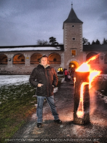 Flammende Vision: Charly Swoboda