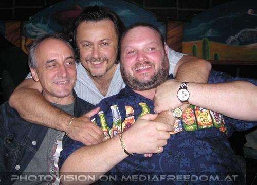 Tribe 18: Norbert K.,Charly Swoboda,Heinz Angel